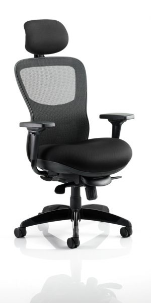 CDP0201 Large Mesh Heavy Duty Posture Ergonomic Executive Office Chair Chiropractor Approved Airmesh Seat With Headrest