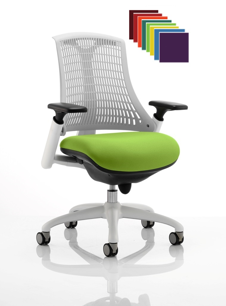 cdp0338-flexible-elastomer-back-white-frame-task-operator-office-contemporary-designer-chair-colours