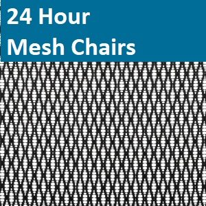 24 Hour Mesh Chairs